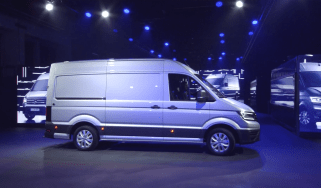 Volkswagen Crafter launch