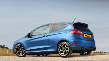 Ford Fiesta ST - rear static