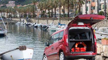 Fiat Doblo  - boots open
