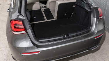 Mercedes A-Class - boot seats down