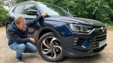 SsangYong Korando long termer - second report wheel