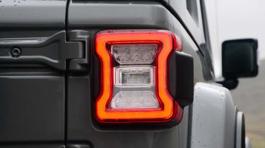 Jeep Wrangler - rear light