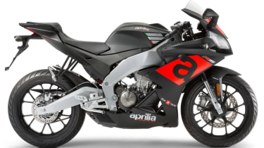 Aprilia RS 125 review - black