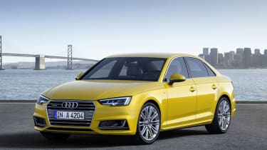 Audi A4 - front yellow