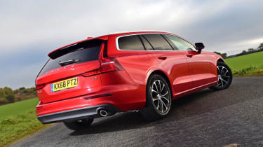 Volvo V60 - long termer first report rear