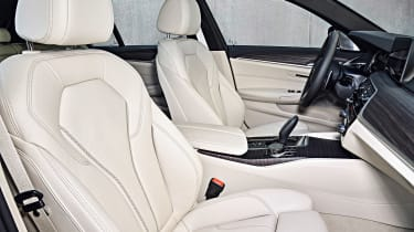 New BMW 5 Series Touring - front seats