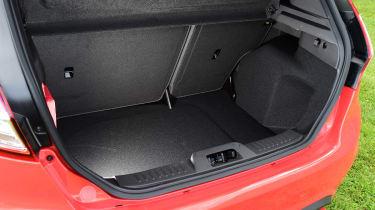 Ford Fiesta ST 5-door - boot