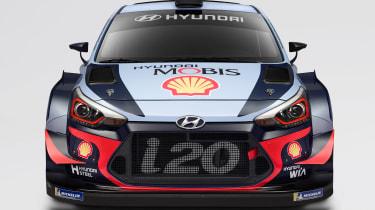 Hyundai i20 WRC - full front