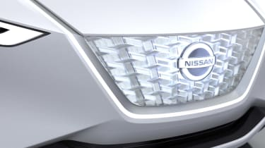 Nissan IMx concept - grille