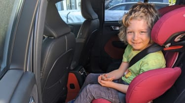 Volvo XC40 Recharge T5 long termer - first report car seat