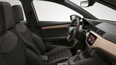 New SEAT Ibiza - interior gold