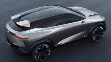 Nissan IMQ concept - above rear