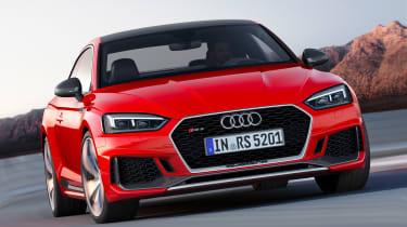 Audi RS5 2017 - front cornering