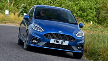 Ford Fiesta ST - front action