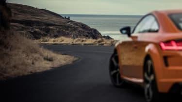Audi TT facelift spied - teaser