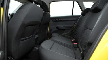 Skoda Fabia Estate rear seats