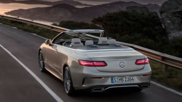 Mercedes E-Class Cabriolet 2017 - AMG Line rear tracking 2