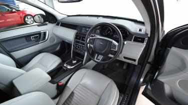 Discovery Sport interior front