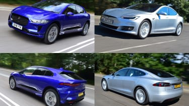 jaguar i-pace vs tesla model s