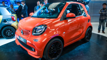 Smart Brabus - Fortwo show front