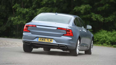 Volvo S90 - UK rear driving