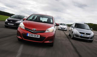Ford Fiesta vs Toyota Yaris vs Mazda2 vs Suzuki Swift
