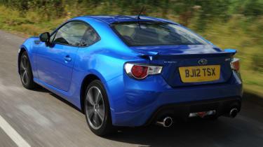 Subaru BRZ rear tracking