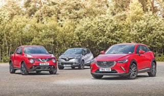 Mazda CX-3 vs Nissan Juke & Renault Captur