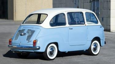 RM Sotheby's 2017 Paris auction - 1963 Fiat 600 Multipla rear