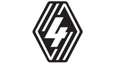 Renault 4 badge