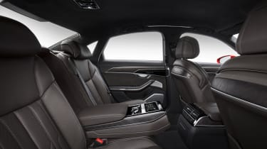 New Audi A8 - rear seats