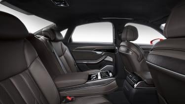 New Audi A8 - rear seats
