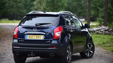 SsangYong Korando - rear static