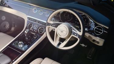 Bentley Continental GT Convertible - dash