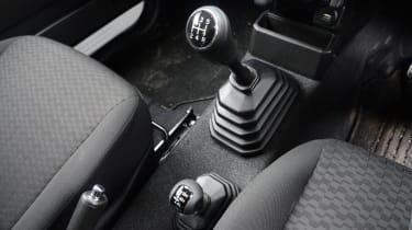 Suzuki Jimny Commercial - gear lever
