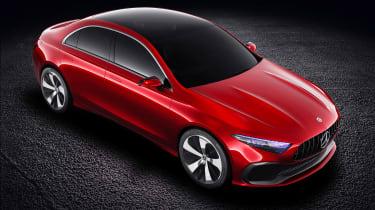 Mercedes Concept A Sedan - above
