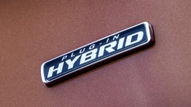 Ford Transit Custom PHEV hybrid badge