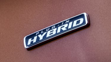 Ford Transit Custom PHEV hybrid badge