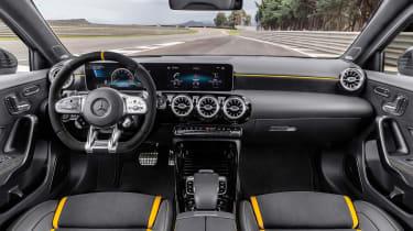 Mercedes-AMG A45 2019 interior