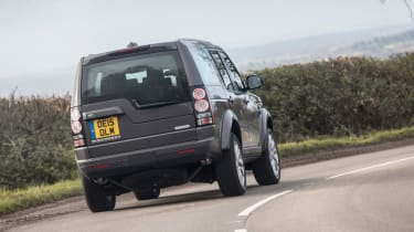 Land Rover Discovery Landmark rear cornering