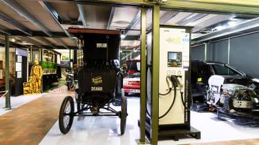 Grampian Transport Museum - museum interior