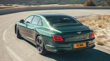 Bentley Flying Spur Verdant - Rear Cornering