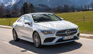 Mercedes CLA - front