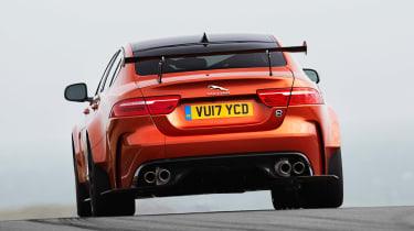 Jaguar XE SV Project 8 - full rear
