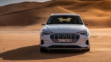Audi e-tron front static