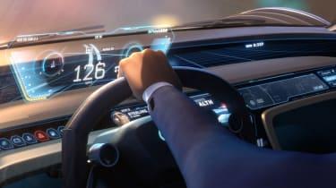 Audi RSQ e-tron Concept - interior animated