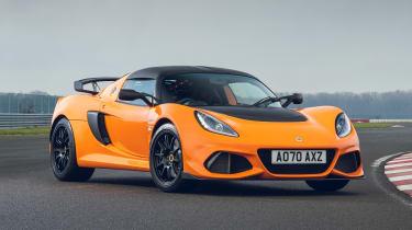 Lotus Exige Final Edition - orange