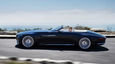 Vision Mercedes-Maybach 6 Cabriolet - side action