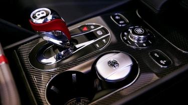 Bentley Bentayga Huntsman - gearstick