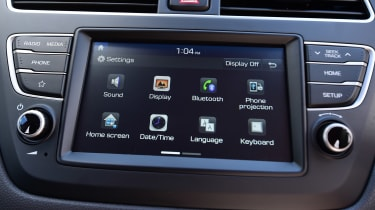 Hyundai i20 - infotainment